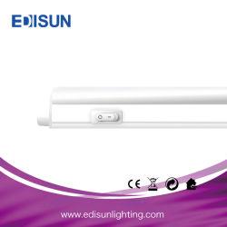 إضاءة LED معتمدة من CE طراز T5 تثبيتة بقدرة 4 وات بقوة 14 وات بقوة 10 وات 0,6 م 0,9 م، 1,2 م مصباح أنبوب LED خطي