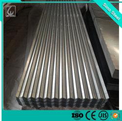 規則的なスパンコール0.12*665mmのGIによって電流を通される鋼鉄波形の屋根ふきシートまたは鋼板
