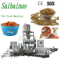 100-1000 Kg/Hr 기계를 만드는 산업 자동적인 건조한 애완견 물고기 고양이 먹이