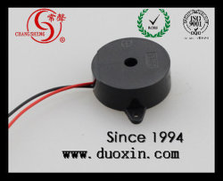 12V 23mm * 9.5mm 피에조 전기 유형 버저(와이어 Dxp23095W 포함