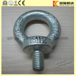 Perno ad occhio galvanizzato hardware del acciaio al carbonio di sartiame con la vite
