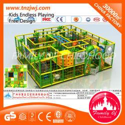 Selva Cubierta de plástico de PVC de equipos de Niños Juegos