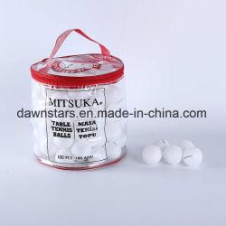 熱い販売D40白いPPの物質的な催し物の卓球のピンポン球