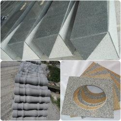 De marmeren Leuningen van het Traliewerk van de Baluster van de Steen van het Graniet Natuurlijke