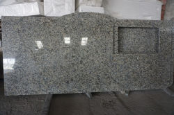 La garantía de calidad Giallo encimera de granito Ornamental