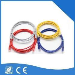 Cordon de raccordement de la communication réseau Câble réseau CAT6 UTP Cat5e avec connecteur pour ordinateur
