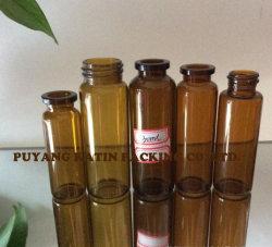 5 мл желтые трубчатые стеклянные флаконы для фармацевтической упаковки