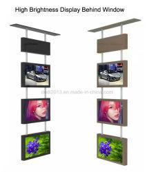49-дюймовый ЖК-дисплей для рекламы в магазине окно спереди/сзади