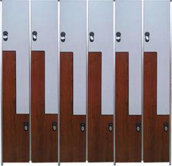 로커를 위한 고압 박층으로 이루어지는 전자 자물쇠
