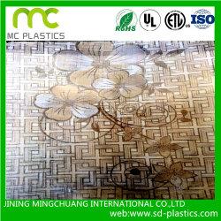 Prägendes weiches Belüftung-Tisch-Blatt für Glasoberflächenschutz/Dekoration