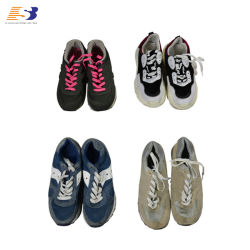 السعر الاقتصادي أحذية اليد الثانية في الأحذية المستخدمة ذات العلامة التجارية في بالات في الصين استخدمت الملابس