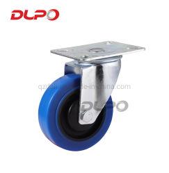 L'industrie Dlpo pivotant pour charges moyennes PU Roulette industrielle, ESD roues pivotantes