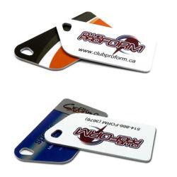 Plástico de forma personalizada la tarjeta de regalo/Número de tarjeta de PVC en relieve de impresión