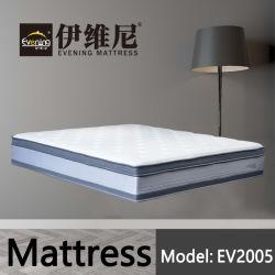 Venda por grosso de mobiliário Hotel camas de molas de bolso cama colchão de espuma de memória