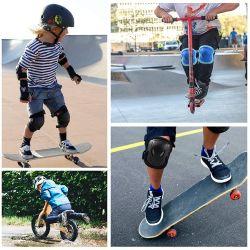 Children's Patinar Ciclismo Palo 6 Piezas de Equipo de protección