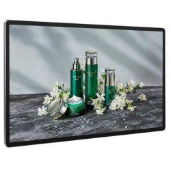 21.5 インチ壁掛けまたは吊り下げ型 LCD 広告ディスプレイ携帯型 Window Digital Signage および LED ディスプレイ
