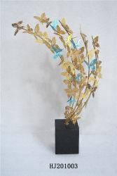 Festival de metal dourado de Natal artesanato de decoração Arte Decorativa