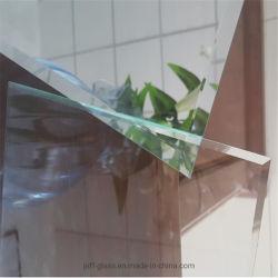 1.8-6mm por grosso da estrutura para pendurar na parede e casa de banho com a borda chanfrada sem caixilho espelho para decoração