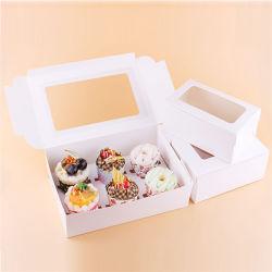 """Livro branco Marfim Placa de papel manteiga de casamento simples Cottage 12"""" Caixa de bolo com base bolo redonda Boards"""