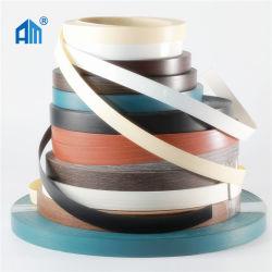 Einfarbig/Hochglanz/Prägung/Holzmaserung/Weiß hochwertiger Tapacanto PVC/ABS/Acryl-Rand Banderolierung für Möbelkanten Panel