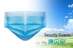 3Máscara de médicos de eliminação de ply Máscara de protecção de alimentação de fábrica 95% taxa de filtração CE