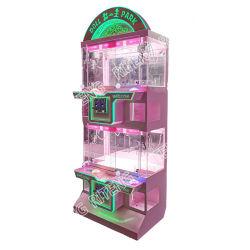 تصميم جديد يعمل عملة أركيد الألعاب متعددة اللاعبين تجديد هدية كرين آلة بيع الآلة جائزة لعبة آلة بيع