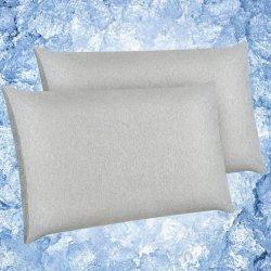 Tecnologia Cool Touch cuscino di raffreddamento in cotone traspirante 100% ipoallergenico Custodie per Sweat Notturno e Hot Flash
