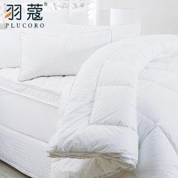 Re cinque stelle 100% dell'hotel del poliestere del cotone dell'hotel del Comforter bianco del materiale di riempimento Bed Duvet