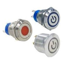 中国の工場製造業者16mm、19mm。 22mmの25mmの防水押しボタンスイッチシリーズ、LEDライト、スイッチIP67が付いている電気スイッチ