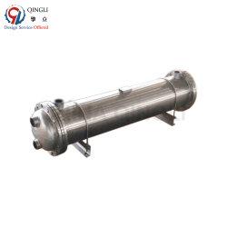 Coperture d'acciaio dello scambiatore della pompa termica e titanio del tubo
