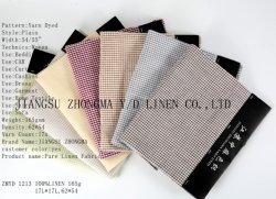 L17*L17 Puro tecido de linho Multi verificado têxteis linho
