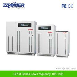 長い時間のバックアップ時間の三相オンライン低周波UPS 10~200kVA
