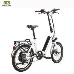 Rebatimento eléctrico de bicicletas para venda 20 polegadas Bateria de Lítio Powered bicicleta dobrável