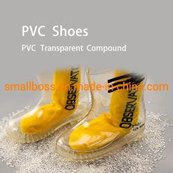 신발 솔용 투명 PVC 화합물