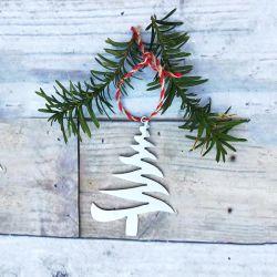Regalo de Navidad personalizadas Decoración de Navidad Metal/ornamento
