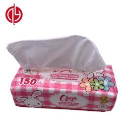 На заводе оптовой туалетной бумаги мягкая упаковка для лица ткани дешевых тканей для распознавания лиц