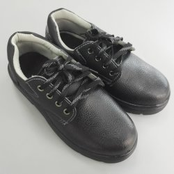 Arbeitsschutz-antistatische Sicherheits-Schuhe mit Stahlzehe-Schwarz-Farbe für Mens