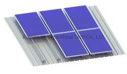 Тин солнечной энергии на верхнем этаже стеллаж, структуры солнечной энергии для коммерческих зданий