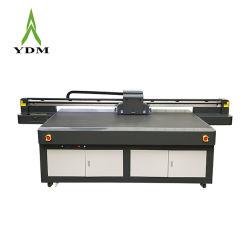 Ydm Industrial Printhead 3D Etobsed Effect UV Flatbed Printer for 유리 세라믹 목재 인쇄
