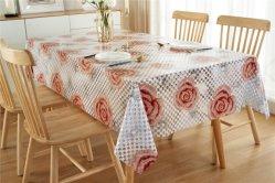 XHM elegante de fábrica 3D Lace Oilproof PVC toalhas/Tablecover decorações de Casamento da Câmara de Mesa
