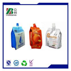 Impreso de la bolsa de embalaje de plástico suave para Jelly