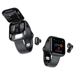 Reloj inteligente de Tws auriculares inalámbricos Bluetooth para teléfono móvil