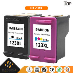 Картридж с черными чернилами HP и принтером с тонером на Портативный принтер или мобильный принтер HP123XL для HP 1111/1112/2130/2131/2132/3630