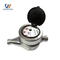 Roestvrijstalen droge meetklok, type koudgeschroefde watermeter
