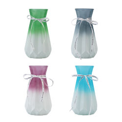 Простой европейского стекла ваза творческих цвет гостиной оформление дома оформление