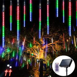 LED Wasserdicht Dekorative Weihnachten im Freien Solar Meteor Dusche Street Tree Dekorationslampe
