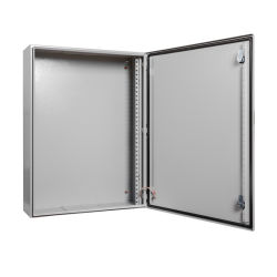 NEMA IP65 para montaje en pared exterior de acero eléctrico caja rectangular de metal resistente al agua Telecom Caja de distribución del Panel de energía eléctrica