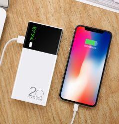 2019 Novo Modelo 20000 mAh banco de Energia Móvel Smart Phone grossista de fonte de alimentação de carga