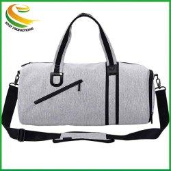 Petite salle de Gym Sports de toile Duffle Bag Sac de formation les bagages en cabine avec compartiment de chaussures