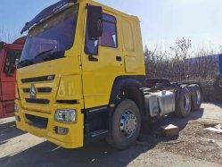 6*4 Cnhtc HOWO Tractor de la cabeza del remolque camión con ruedas de 10